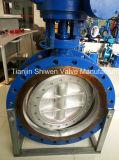 Dn600 금속 열심히 밀봉된 플랜지 나비 벨브 (D341X-10)