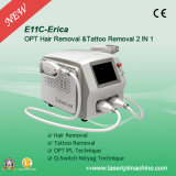 2000W Powerful IPL Hair Removal와 Qswitch ND YAG Tattoo Remove Machine