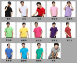 Round Neck Blank Comfortable Multicolor T-Shirt des Mannes für Wholesale
