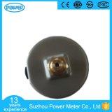 indicateur de pression rempli par liquide de caisse d'acier inoxydable de prix usine de 50mm
