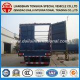 Fabricante chinês reboque seco do caminhão de Van/caixa Semi sem teto