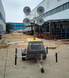 Башня освещения высокого рангоута поставкы фабрики пневматическая повышаясь телескопичная (FZMT-400B)