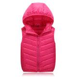 Мальчика девушки гусыни Packable куртка вниз для студентов детей зимы