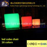 당 사건 바 가구 LED 입방체를 바꾸는 16의 색깔