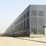 Gruppo di lavoro Pre-Costruito dell'acciaio per costruzioni edili, tettoia di memoria, magazzino chiaro della struttura d'acciaio