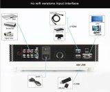 2000: 1 proyector sin hilos lleno del LCD LED del androide de la relación de transformación 4k HD del contraste para la PC elegante del teléfono