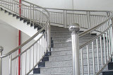 201/304 grado Stainless Steel Welded Tube para Handrail