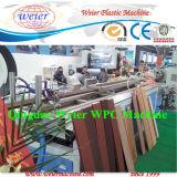 Machine en plastique en bois d'extrusion de PE de PVC de WPC