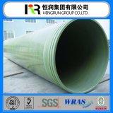 El mejor precio de alta resistencia para el abastecimiento de agua y el tubo del drenaje GRP