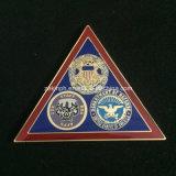 Distintivo militare su ordinazione di figura del triangolo per i premi