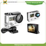 Ultra dünne Vorgangs-Kamera drahtlose WiFi Kamera des Entwurfs-Doppelfarben-Bildschirm-360vr 4k