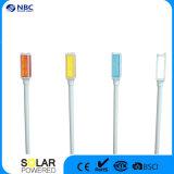 Lampada istantanea solare dell'indicatore luminoso di indicatore di quattro colori LED