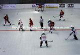 Einfach installieren und null behalten Rollen-Hockey-Fußboden-Fliese-Goldserie für Meisterschaften bei (Hockey-Gold/Silber/Bronze)