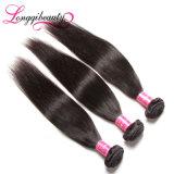 バージンのインドの毛の織り方まっすぐな5Aは長さの加工されていないRemyの毛の安い人間の毛髪の織り方を混合した