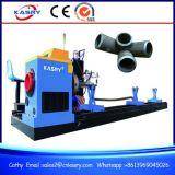 Macchina d'acciaio di Beveler della taglierina dell'ossigeno del plasma del tubo di CNC per 5 l'asse Kr-Xy5 controllato