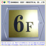 Tarjeta plástica del color del doble del ABS del grabado/hoja doble del plástico del ABS del color ABS/Engraving