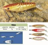 Attrait conçu de bonne qualité de pêche de Wobbler de vairon de crevette