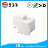 L'identification en plastique carde la carte de visite professionnelle de visite transparente de PVC de matériau