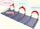 Sommeil se pliant simple portatif confortable robuste ultra-léger de lit de camp de bâti de camp extérieur avec le bâti en aluminium