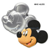 공장 Wholesale 3D Mickey Mouse Aluminum Metal Cake Tin