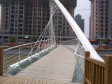Puente durable de la estructura de acero de Customed con alta calidad