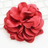 Grande Brooch Colourful del fiore con tessuto