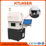 Edelstahl-/Aluminium-/Eisen-hoher exakter Faser-Laser-Markierungs-Maschinen-Schutz-Deckel-Entwurf des Xt Laser-Watt-20With30W silberner
