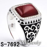 Forma 925 Sterling Silver Jewelry/Jewellery Ring para Man (S-4694, S-4698, S-4702, S-4706, S-4732, S-7692)