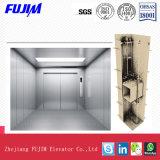 1000kg, 2000kg, elevador de frete de Roomless da máquina da capacidade 3000kg com Vvvf