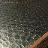 A película antiderrapante resistente de Brown da água de 4*8 China enfrentou a madeira compensada para o molde concreto