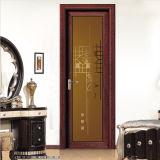 開き窓のドアの内部の浴室のドアの洗面所のドア