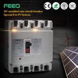 Interruptor de energía solar fotovoltaica de 500 VCC 50A MCCB 2p circuito en caja moldeada