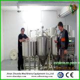 판매를 위해 100L 양조 시스템을 시험하는 홈과 맥주 조리법
