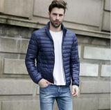 Людей зимы одежда Silm куртки вниз твердая подходящая тонкая светлая