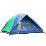 Personen-Zelt des Klassiker-4, doppelte Schicht-Seeufer-kampierendes Zelt