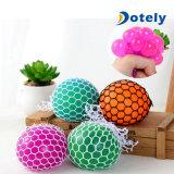 Gelegentliche Anti-Stress Luftauslass-Trauben-Kugel-Squishy Spielzeug