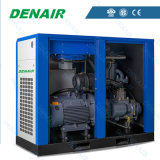 Elektrisch aangedreven leid de Gedreven Olie Ingespoten Stationaire Compressor van de Lucht van de Schroef