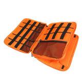 Organizzatore dell'attrezzo di corsa di doppio strato/sacchetto accessori di elettronica/caso universali Esg10237 caricabatteria