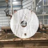 Dessus rond de table basse de granit de marbre