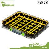 Gimnasia comercial de interior por encargo profesional gigante del trampolín para los adultos
