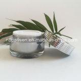 vaso crema acrilico d'argento di lusso 30g per l'imballaggio di Skincare (PPC-NEW-128)