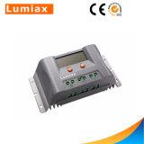 Controlador da carga do painel solar de Máximo-UE 12V/24V 40A PWM com LCD