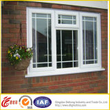 Fenêtre fixe en aluminium moderne du profil UPVC/Aluminum