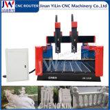 Router indipendente di CNC dei 2 assi di rotazione per l'incisione di marmo della ceramica del granito
