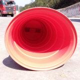 Plasticade Econocade IIのトラフィックのドラム- 6in。 エンジニアの等級の広がること