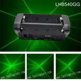 400MW verde 8lens pequeño haz-Moving-Head Minispiderlaser Luz