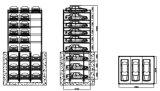 Sistema Verticale-Orizzontale di parcheggio dell'automobile di strato +6-3