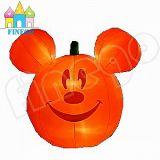 Aufblasbare Halloween-Kugel Mickey Mouse