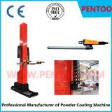 O injetor do revestimento do pó para o carro roda dentro a pulverização do pó
