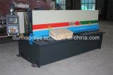 China brachte Blech-scherende Maschine des Entwurfs-QC12y-6*3200mm Nc hydraulische für Verkauf voran
